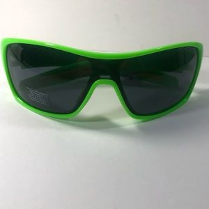 Vintage Inspired Neon Green Visor Sunglasses Kim